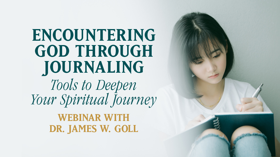 Encountering God through Journaling